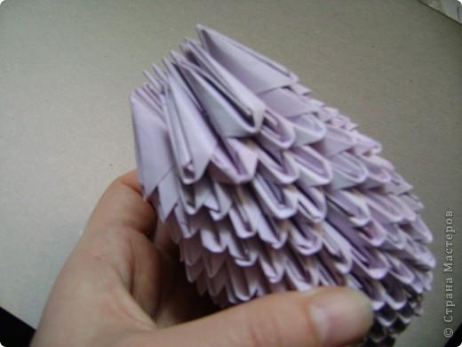 Мастер-класс,  Оригами модульное, : Крыска Лариска + МК Бумага . Фото 18