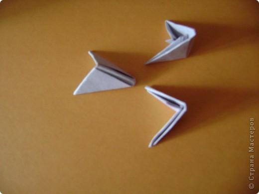 Мастер-класс,  Оригами модульное, : Крыска Лариска + МК Бумага . Фото 6