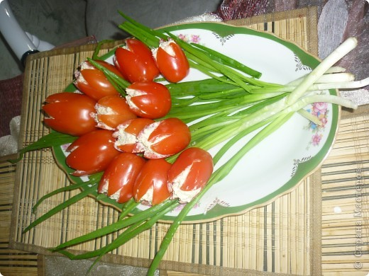 Салат букет тюльпан рецепт с