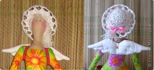 Куклы Вязание крючком: Ажурные шляпки Нитки.  Фото 3.