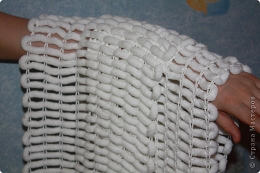 Мастер-класс Вязание: Способ скоростного вязания из пряжи с помпончиками :) Пряжа. Фото 1
