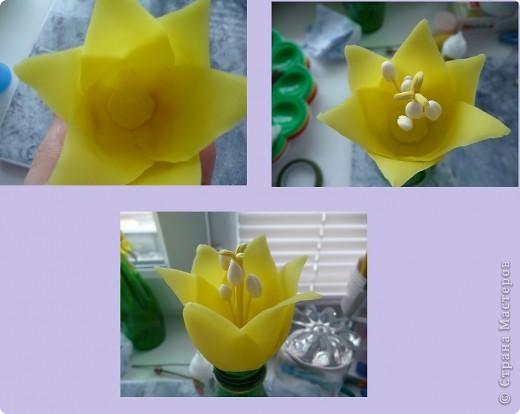 Вот рябчики я люблю, чего не могу сказать об орхидее! Поэтому лепила их с огромным удовольствием! Не совершенство конечно, зато есть к чему стремиться.. Фото 11