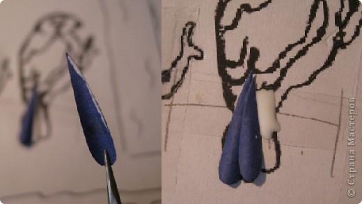 Картина, панно, Мастер-класс,  Бумагопластика, : Домик синички МК. Часть 2. Бумага . Фото 6
