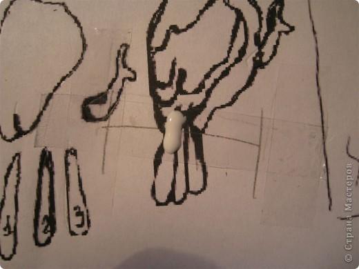 Картина, панно, Мастер-класс,  Бумагопластика, : Домик синички МК. Часть 2. Бумага . Фото 4