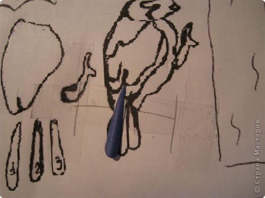 Картина, панно, Мастер-класс,  Бумагопластика, : Домик синички МК. Часть 2. Бумага . Фото 5