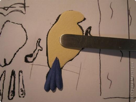 Картина, панно, Мастер-класс,  Бумагопластика, : Домик синички МК. Часть 2. Бумага . Фото 9