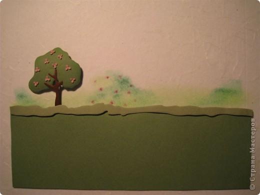 Картина, панно, Мастер-класс,  Бумагопластика, : Домик синички МК. Часть 2. Бумага . Фото 12