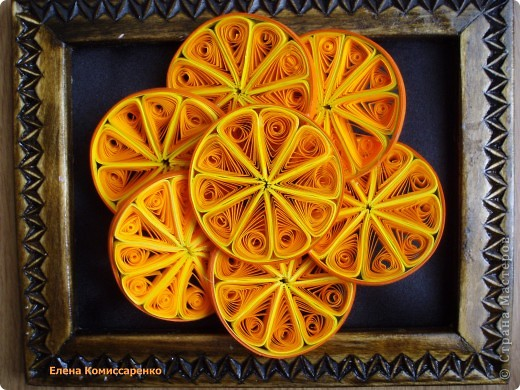 Поделка с апельсин