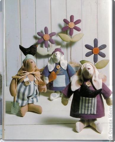 Коллективная работа, Мастер-класс Шитьё: Шьём вместе  Тильдо-зайца! Ткань. Фото 1