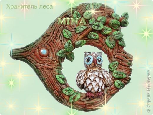 Поделка, изделие Лепка: Хранитель леса Тесто соленое. Фото 1
