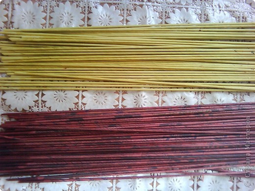 Мастер-класс,  Плетение, : Корзина - Мастер - класс для вас Бумага газетная . Фото 2
