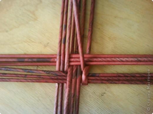 Мастер-класс,  Плетение, : Корзина - Мастер - класс для вас Бумага газетная . Фото 4