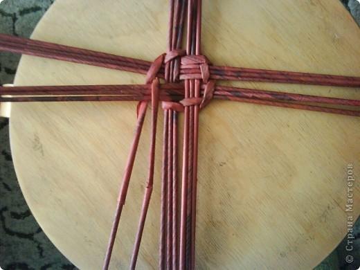 Мастер-класс,  Плетение, : Корзина - Мастер - класс для вас Бумага газетная . Фото 10