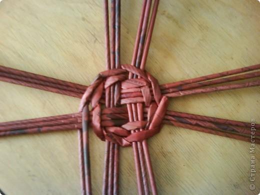Мастер-класс,  Плетение, : Корзина - Мастер - класс для вас Бумага газетная . Фото 11