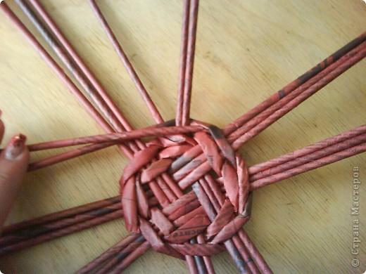 Мастер-класс,  Плетение, : Корзина - Мастер - класс для вас Бумага газетная . Фото 12