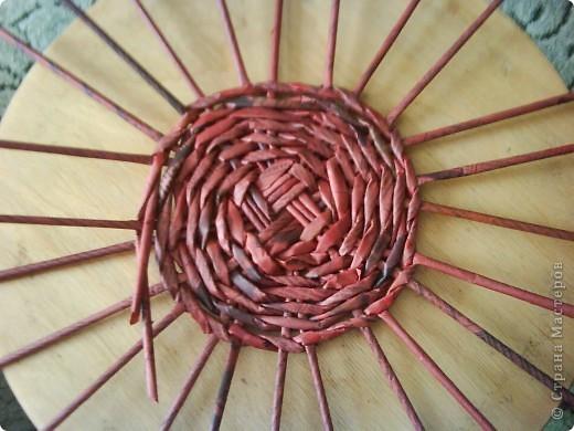 Мастер-класс,  Плетение, : Корзина - Мастер - класс для вас Бумага газетная . Фото 16