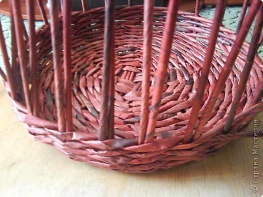 Мастер-класс,  Плетение, : Корзина - Мастер - класс для вас Бумага газетная . Фото 21