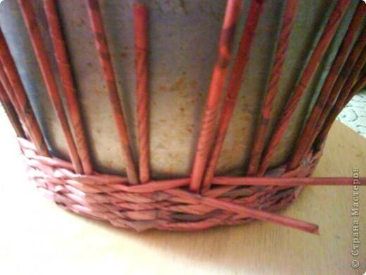 Мастер-класс,  Плетение, : Корзина - Мастер - класс для вас Бумага газетная . Фото 22
