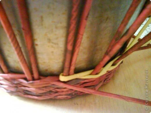 Мастер-класс,  Плетение, : Корзина - Мастер - класс для вас Бумага газетная . Фото 23