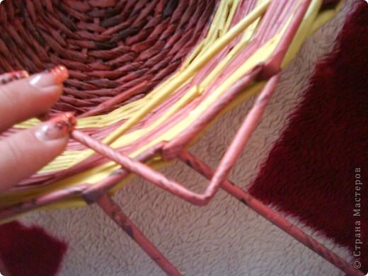 Мастер-класс,  Плетение, : Корзина - Мастер - класс для вас Бумага газетная . Фото 32