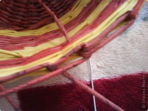 Мастер-класс,  Плетение, : Корзина - Мастер - класс для вас Бумага газетная . Фото 37