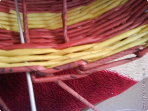Мастер-класс,  Плетение, : Корзина - Мастер - класс для вас Бумага газетная . Фото 39