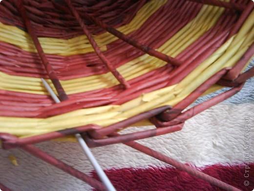 Мастер-класс,  Плетение, : Корзина - Мастер - класс для вас Бумага газетная . Фото 40