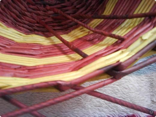 Мастер-класс,  Плетение, : Корзина - Мастер - класс для вас Бумага газетная . Фото 41