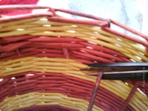 Мастер-класс,  Плетение, : Корзина - Мастер - класс для вас Бумага газетная . Фото 44