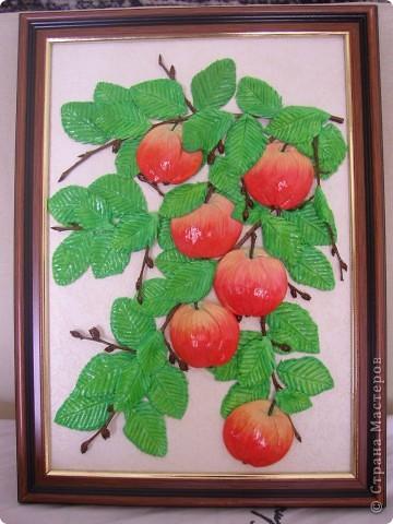 Яблоки из соленого теста своими руками