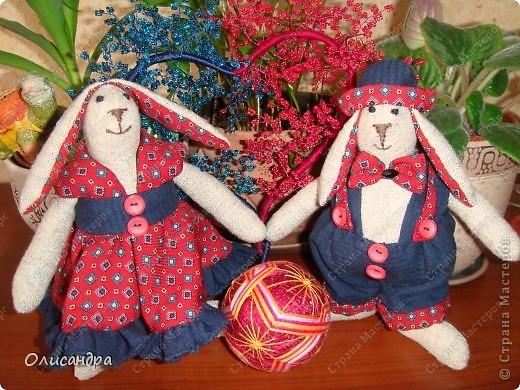 Коллективная работа, Мастер-класс Шитьё: Шьём вместе  Тильдо-зайца! Ткань. Фото 17