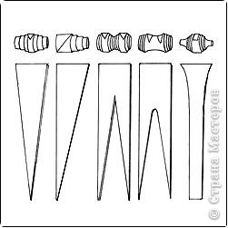 Мастер-класс, Поделка, изделие,  Квиллинг, : Как сделать брелок из бумаги... Бумага . Фото 8