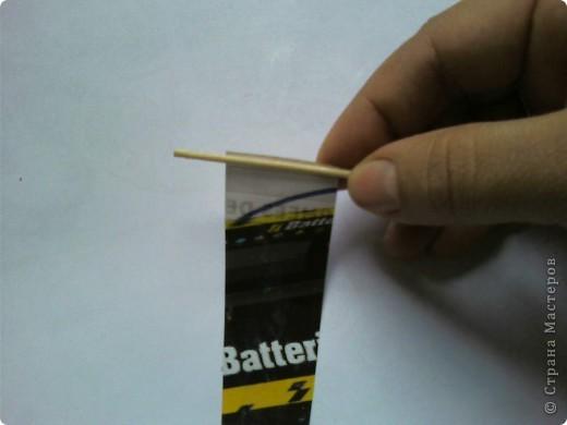 Мастер-класс, Поделка, изделие,  Квиллинг, : Как сделать брелок из бумаги... Бумага . Фото 5