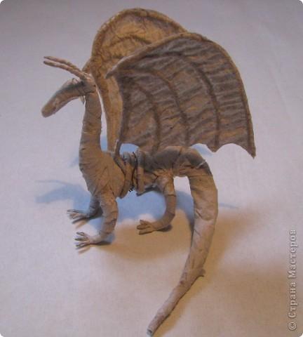 Как обещала, показываю этапы создания дракона. Маленький Элиот-хранитель. . Фото 10