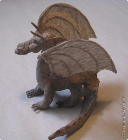 Как обещала, показываю этапы создания дракона. Маленький Элиот-хранитель. . Фото 13