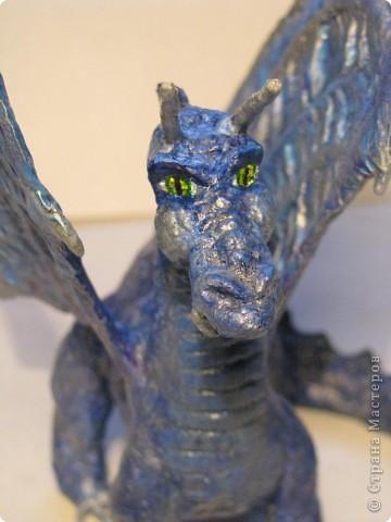 Как обещала, показываю этапы создания дракона. Маленький Элиот-хранитель. . Фото 20