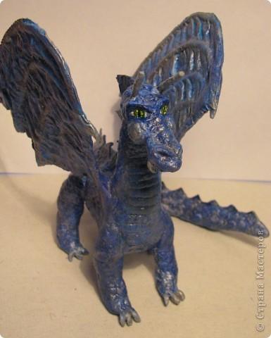 Как обещала, показываю этапы создания дракона. Маленький Элиот-хранитель. . Фото 21