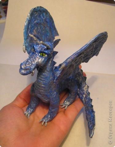 Как обещала, показываю этапы создания дракона. Маленький Элиот-хранитель. . Фото 22