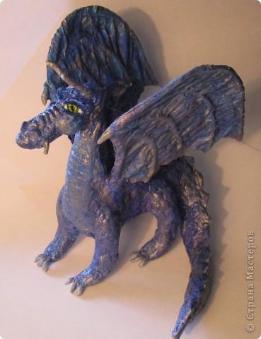 Как обещала, показываю этапы создания дракона. Маленький Элиот-хранитель. . Фото 1