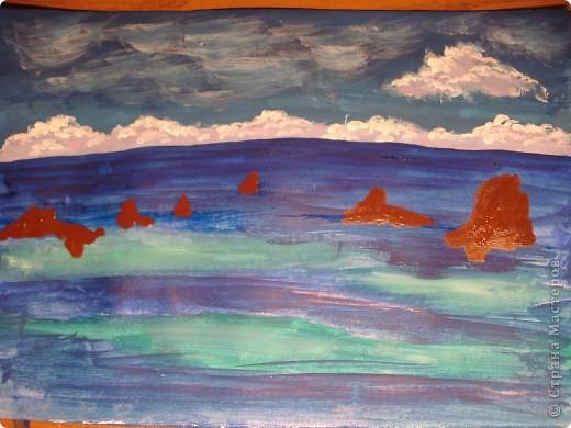 Морская зарисовка с пальмой.Специально для Натальи и её сынули.. Фото 9