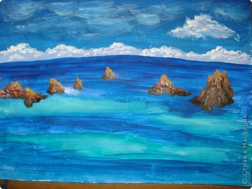 Морская зарисовка с пальмой.Специально для Натальи и её сынули.. Фото 12