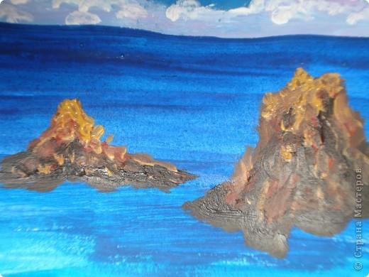 Морская зарисовка с пальмой.Специально для Натальи и её сынули.. Фото 13