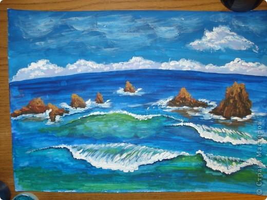 Морская зарисовка с пальмой.Специально для Натальи и её сынули.. Фото 20