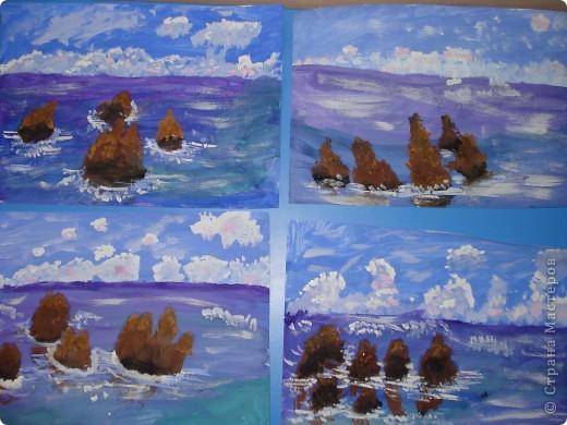Морская зарисовка с пальмой.Специально для Натальи и её сынули.. Фото 27