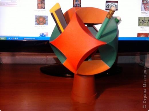 """Поделка, изделие Оригами модульное: JumpModul - полезный """"шар"""" Картон Дебют. Фото 1"""