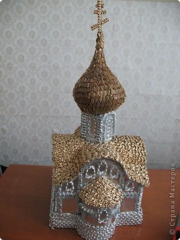 Поделка, изделие: Реставрируем храм Продукты пищевые Рождество. Фото 3