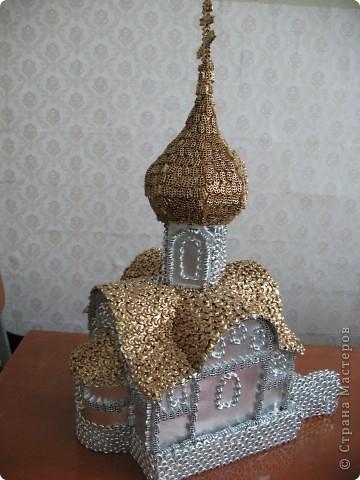 Поделка, изделие: Реставрируем храм Продукты пищевые Рождество. Фото 4