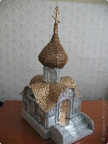 Поделка, изделие: Реставрируем храм Продукты пищевые Рождество. Фото 5