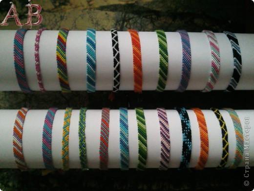 схемы прямого плетения фенечек