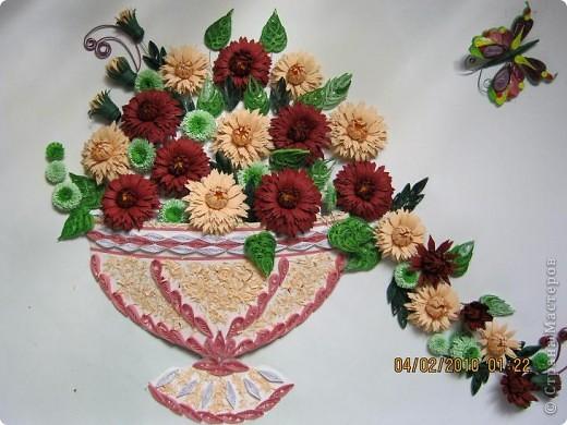 Квиллинг цветы астры схемы